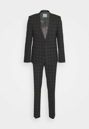 GIRI SUIT SLIM FIT - Suit - charcoal