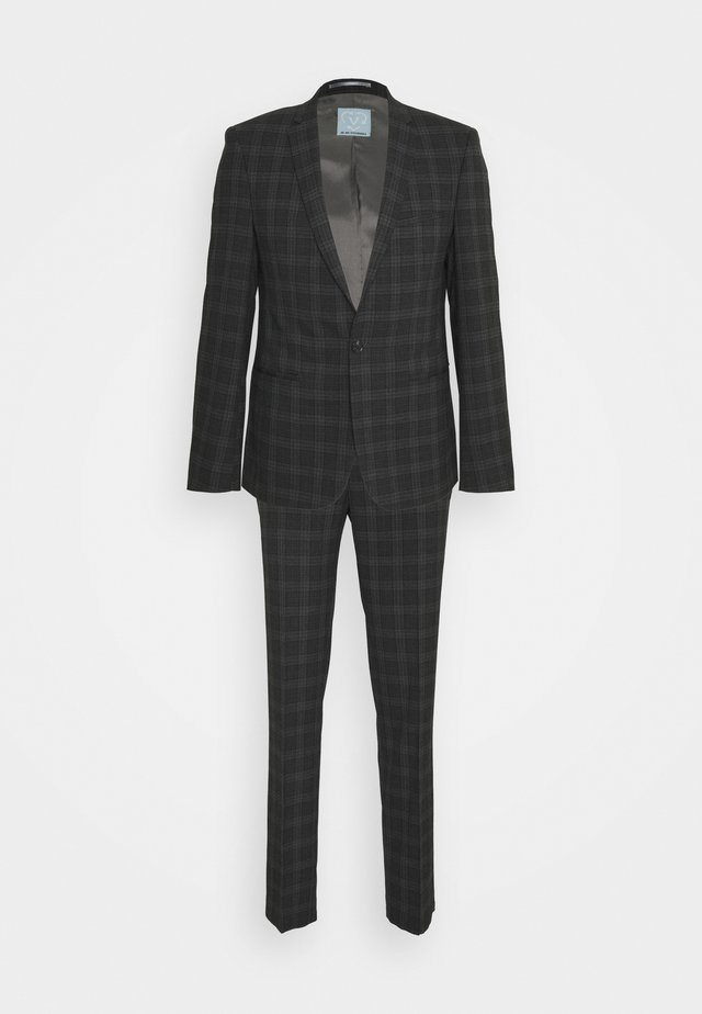 GIRI SUIT SLIM FIT - Completo - charcoal