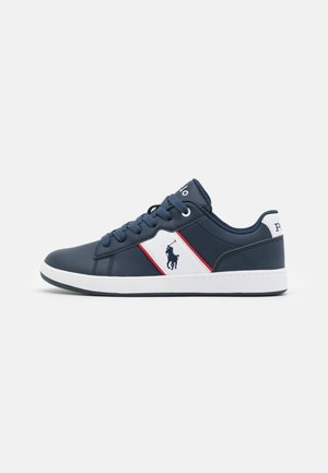 OAKVIEW II - Trainers - navy smooth/white/red