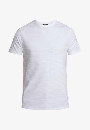 JPRGERARD TEE CREW NECK - T-shirts basic - white