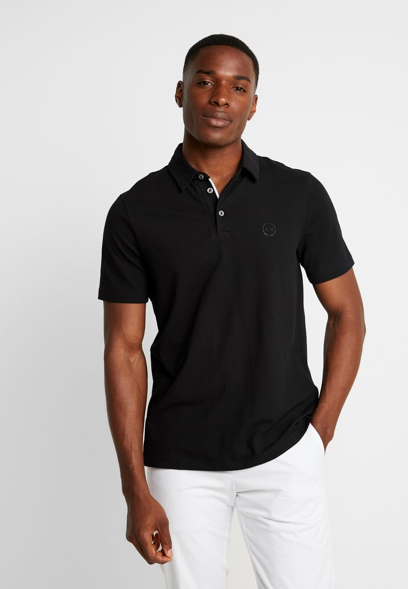 Armani Exchange - Koszulka polo - black