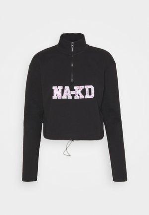 CROPPED - Sweatshirt - black