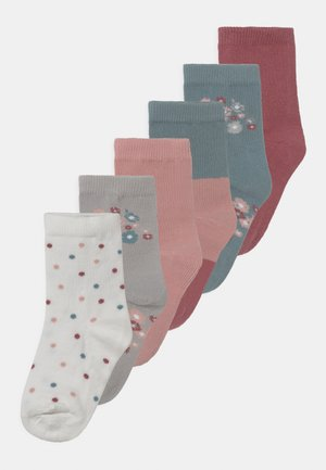 NKFBINA 6 PACK - Socks - deco rose