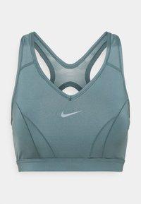 Nike Performance - BRA  - Reggiseno sportivo con sostegno medio - hasta/aviator grey - 0