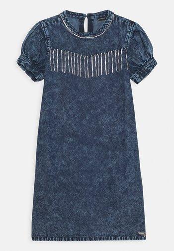 JUNIOR DRESS  - Denim dress - cloudy blue