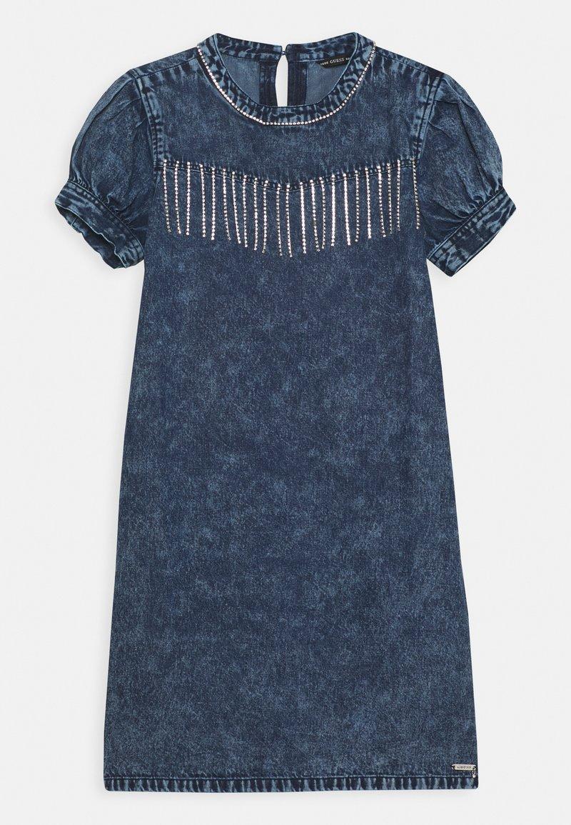 Guess - JUNIOR DRESS  - Robe en jean - cloudy blue