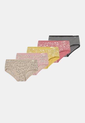 GIRLS LEOPARD 5 PACK - Boxerky - multi-coloured