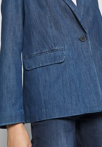 TOM TAILOR - Veste en jean - dark stone wash denim/blue - 5