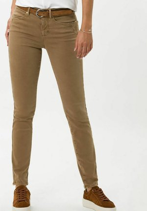 STYLE ANA - Jeans Skinny - dark camel