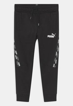 POWER TAPE UNISEX - Spodnie treningowe - black
