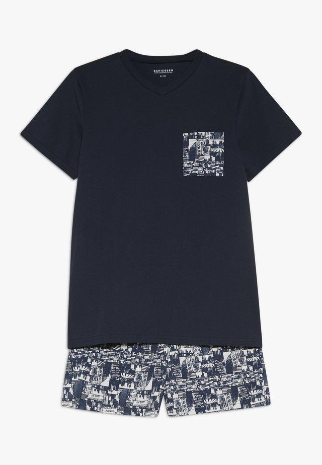 Piżama - nachtblau