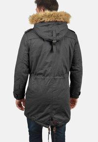Solid - WINTERJACKE CLARKI TEDDY - Winter coat - dark grey - 1