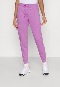 Nike Sportswear - AIR PANT - Tracksuit bottoms - violet shock - 0