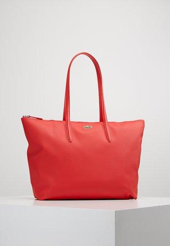 Shopping bag - high risk red