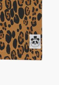 Mini Rodini - BASIC LEOPARD TEE UNISEX - Print T-shirt - beige - 2