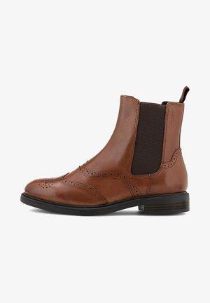 AMINA - Classic ankle boots - mittelbraun