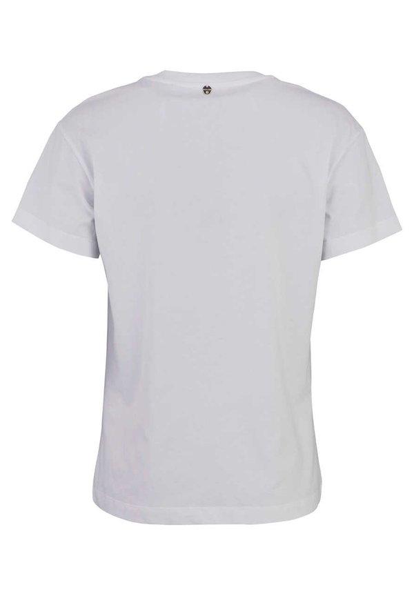 Rich & Royal T-shirt z nadrukiem - wei? Odzież Damska UPBT UM 7