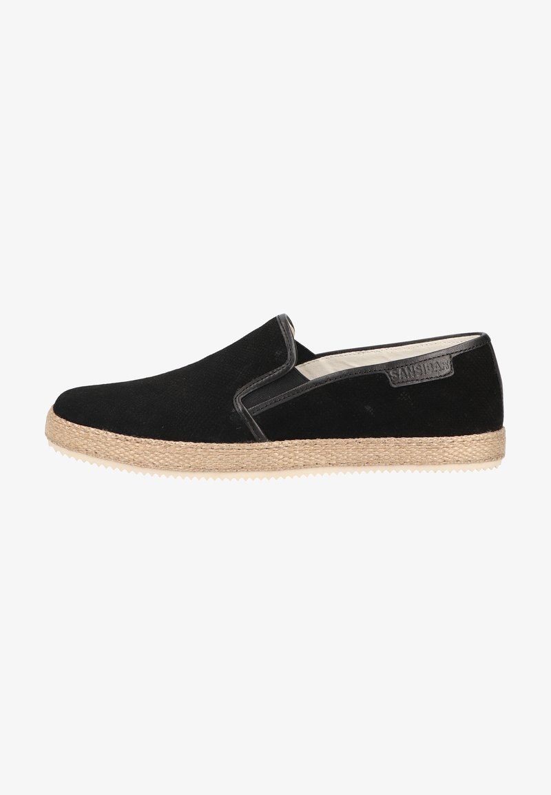 Sansibar Shoes - Espadrilles - schwarz