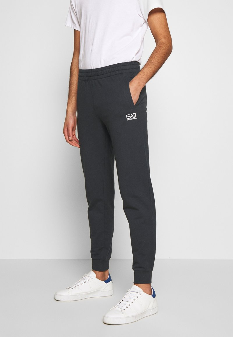 EA7 Emporio Armani - PANTALONI - Tracksuit bottoms - night blue