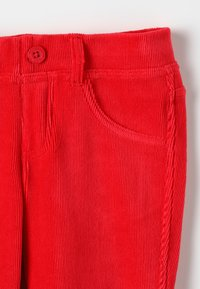Benetton - TROUSERS - Kalhoty - red - 3