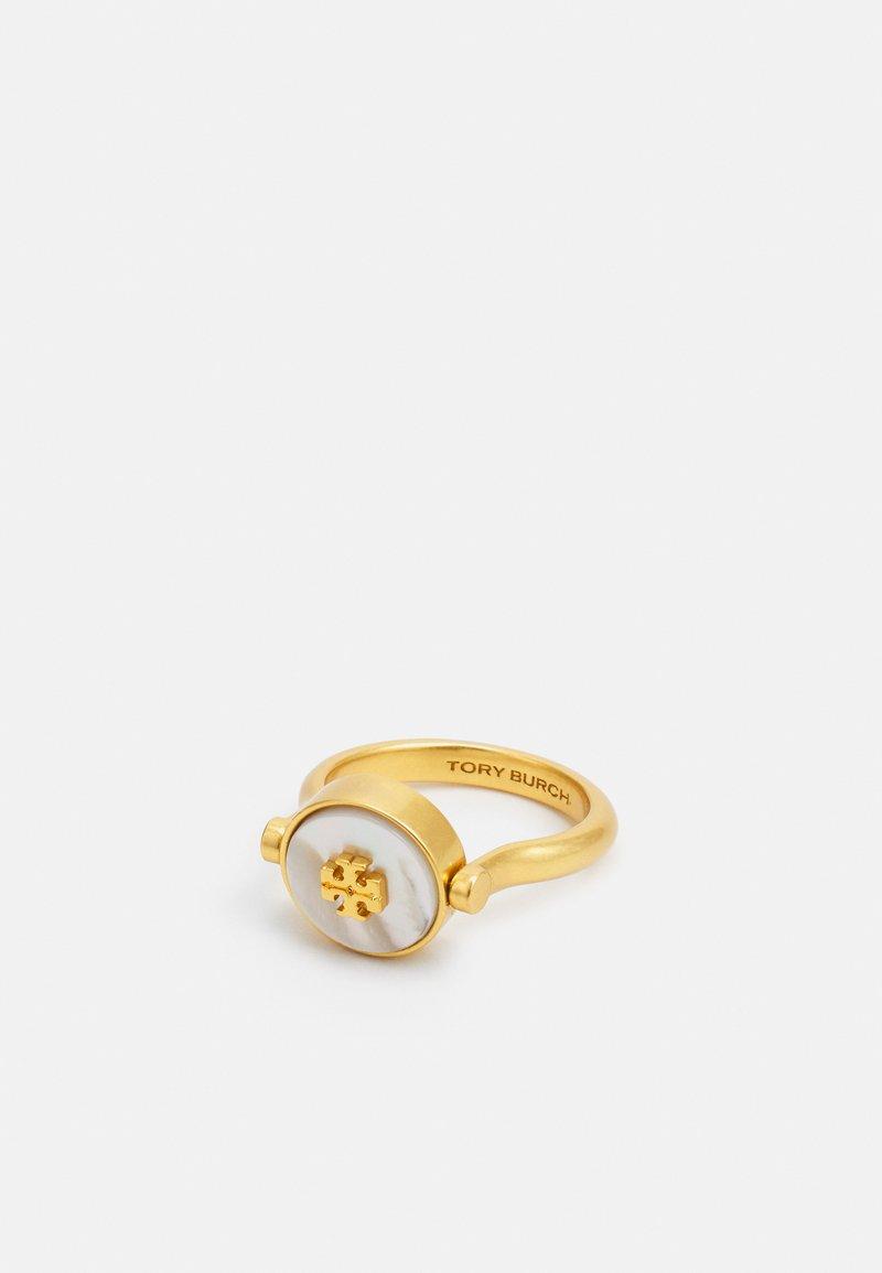 Tory Burch - KIRA SEMIPRECIOUS RING - Sormus - silver-coloured