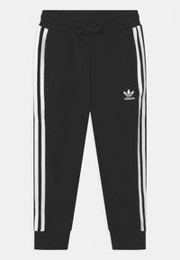 adidas Originals - HOODIE SET UNISEX - Trainingspak - black/white - 2
