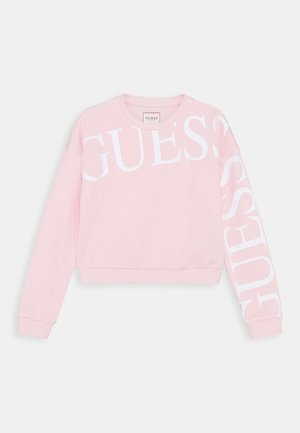 JUNIOR ACTIVE ICON - Sweatshirt - light pink/white