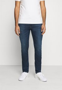 Tommy Jeans - SIMON SKINNY - Jeans Skinny Fit - queens dark blue - 0