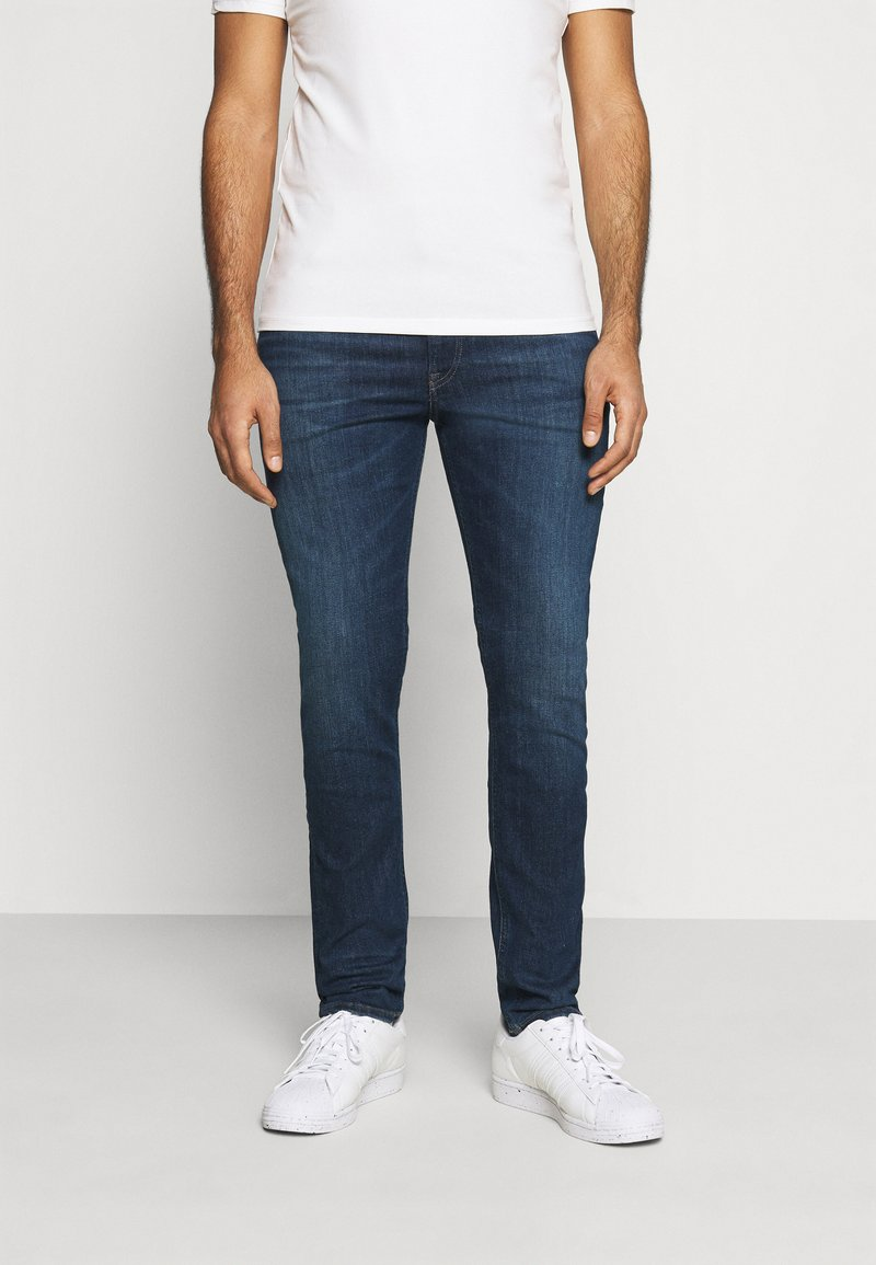 Tommy Jeans - SIMON SKINNY - Jeans Skinny Fit - queens dark blue