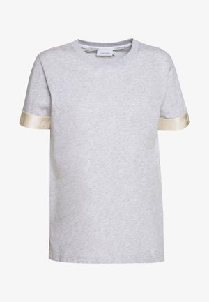 ATHLEISURE - Triko s potiskem - light grey heather