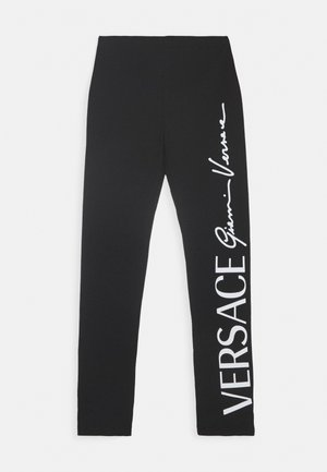 BOTTOM FELPA - Leggings - Trousers - nero