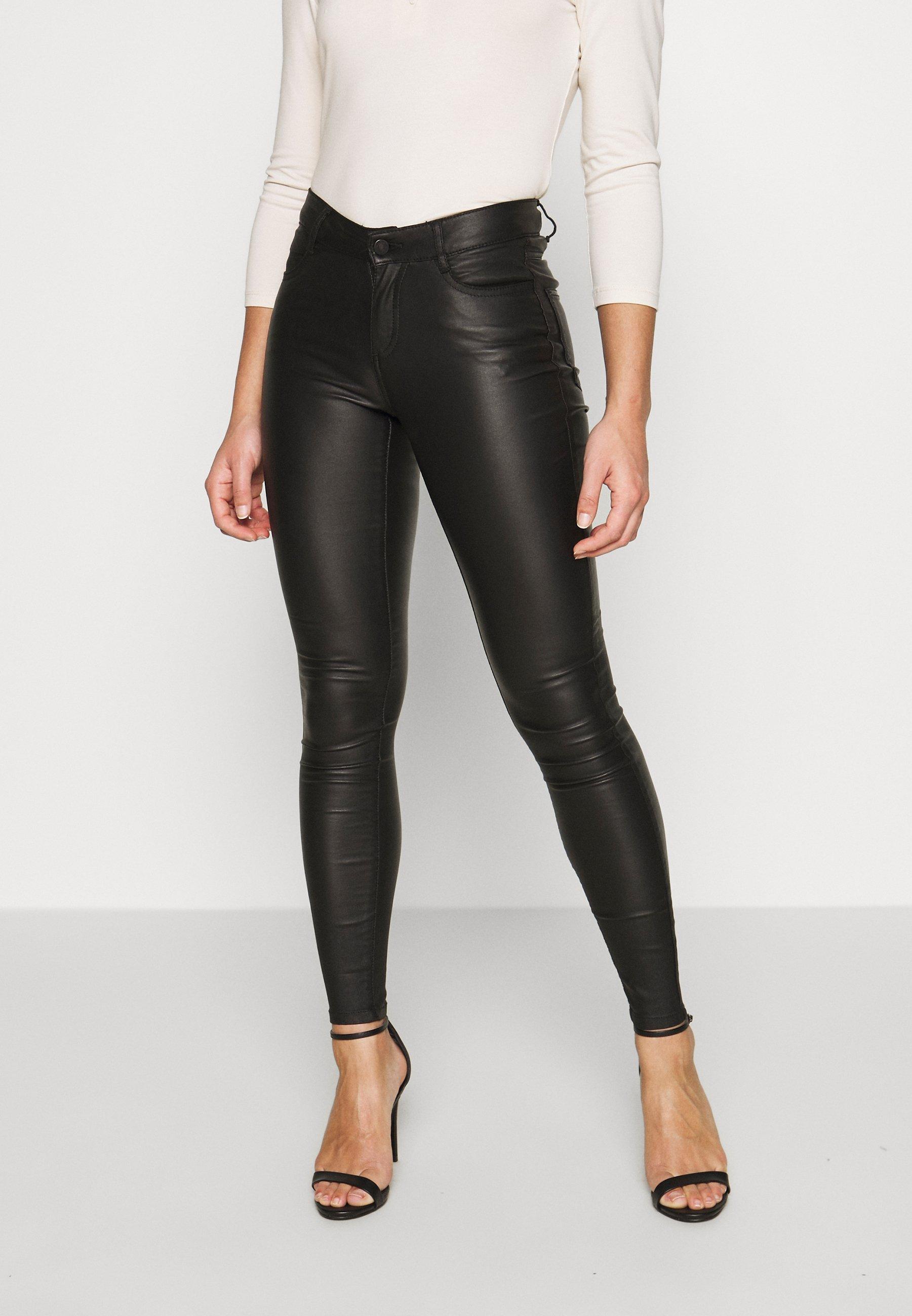 Femme VICOMMIT COATED NEW PANT - Pantalon classique