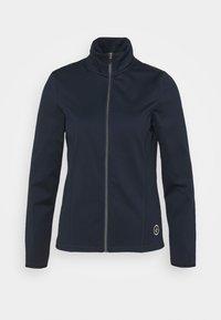 Cross Sportswear - WOMENS TECH FULL ZIP - Fleecejas - navy - 4