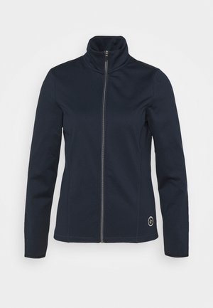 WOMENS TECH FULL ZIP - Fleecová bunda - navy