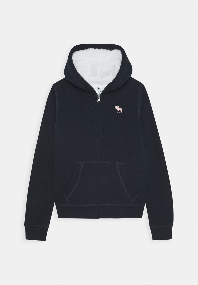 Abercrombie & Fitch - Mikina na zip - navy