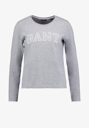 ARCH LOGO - Long sleeved top - grey melange