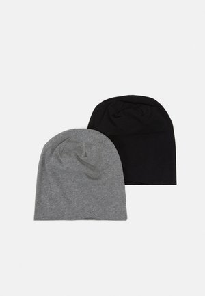 2 PACK - Beanie - black/grey