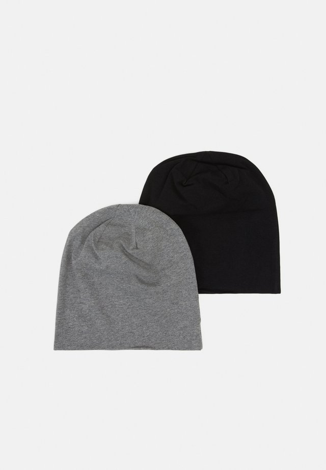 2 PACK - Mössa - black/grey