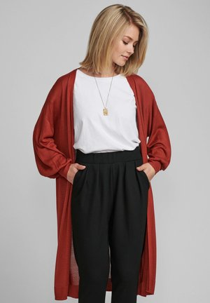 NUBIA  - Cardigan - barn red