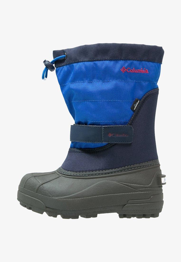 Columbia - POWDERBUG PLUS II - Winter boots - collegiate navy/chili