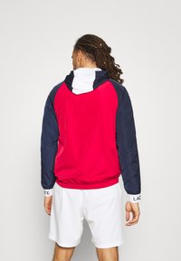 Lacoste Sport - TRACK JACKET - Träningsjacka - navy blue/ruby/white/navy blue - 2