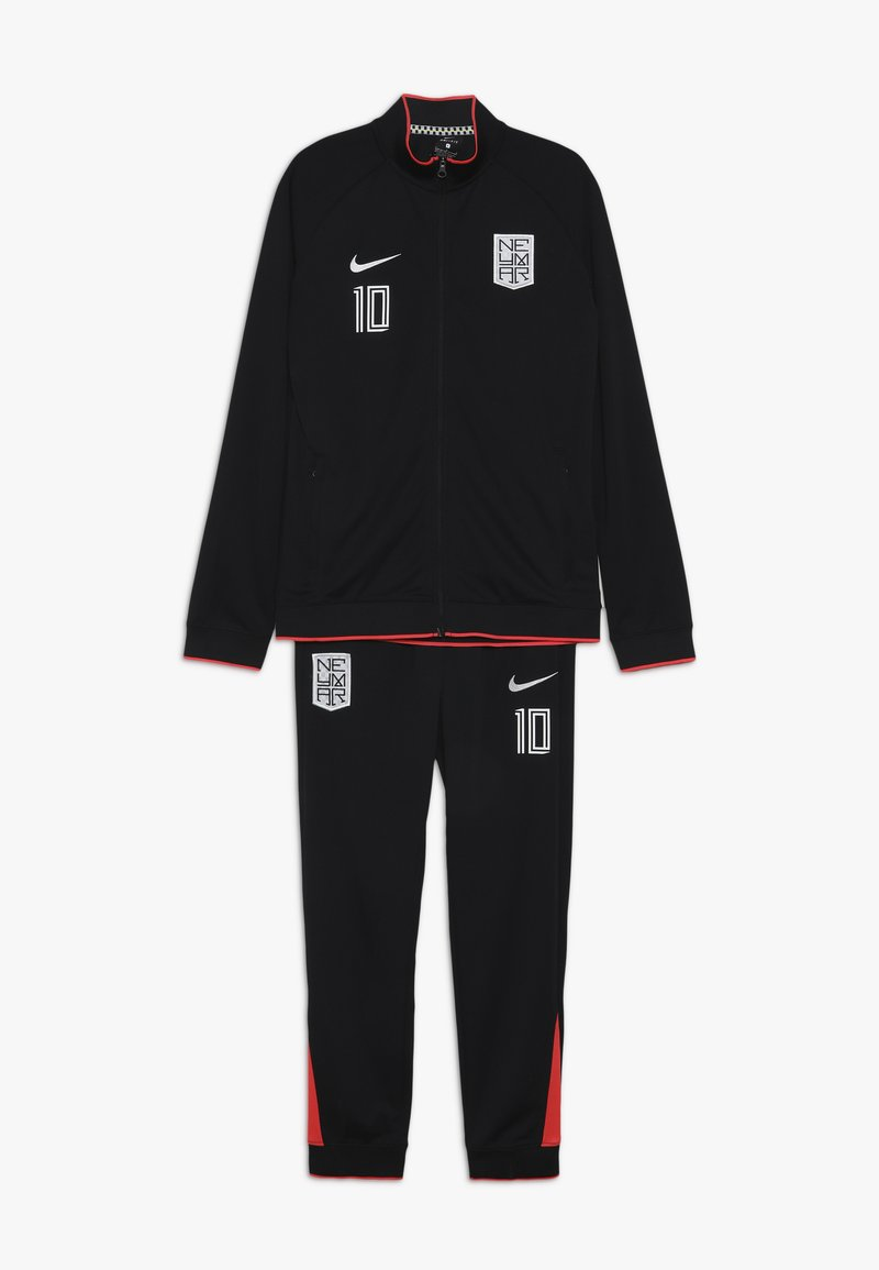 Nike Performance - NEYMAR DRY SUIT SET - Træningssæt - black/laser crimson/white