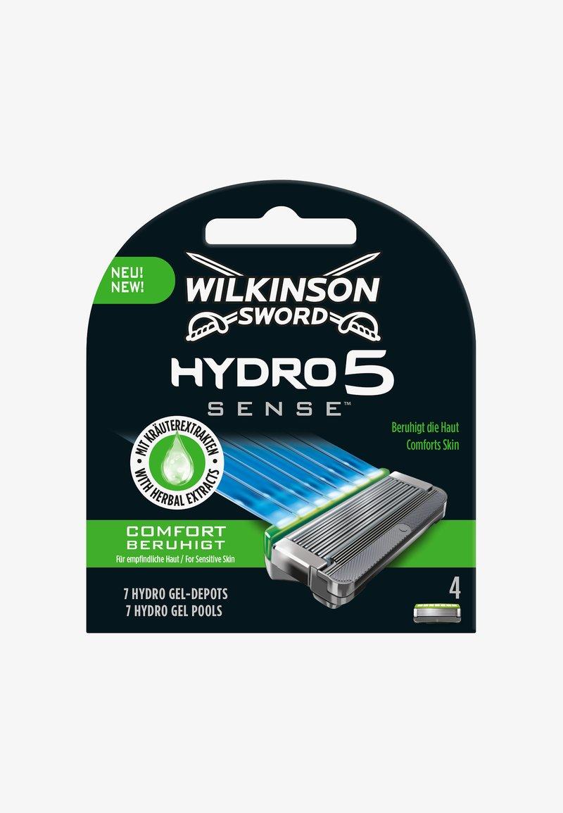 Wilkinson Sword - HYDRO SENSE COMFORT BLADES 4PCS - Barbermaskine - -