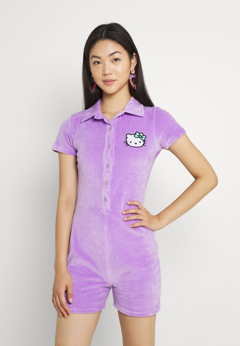 NEW girl ORDER - HELLO ROMPER - Jumpsuit - lilac