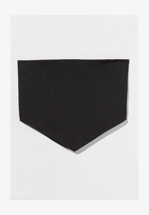 MIT PRINT UND BÄNDERN AM RÜCKEN - Blůza - black