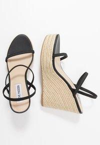 Steve Madden - SKYLIGHT - Sandály na vysokém podpatku - black - 3