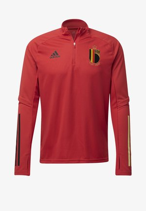 BELGIUM RBFA TRAINING SHIRT - National team wear - red