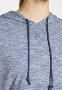 Nike Performance - YOGA HOODIE - Camiseta de manga larga - diffused blue - 4