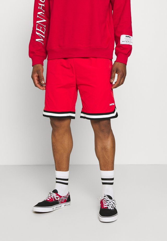 TAPED BASKETBALL - Shorts - red