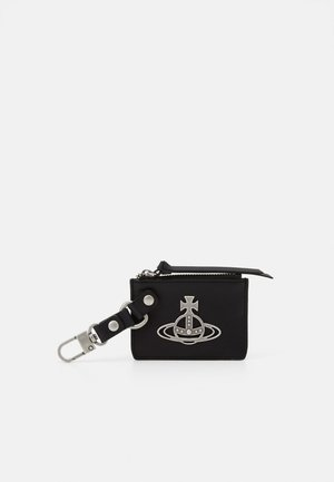 BETTY CARD HOLDER PURSE - Klíčenka - black